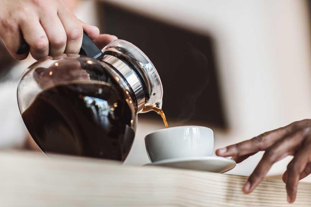 Coffee Made In a Drip machine