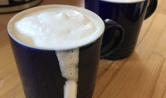 Foam From A French Press