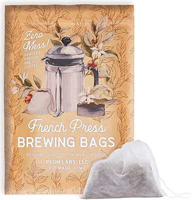 The Original French Press Brewing Bags