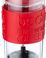 Bodum Insulated Plastic Travel French Press Coffee Mug and Maker