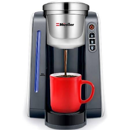Mueller Single Serve Pod Compatible Coffee Maker