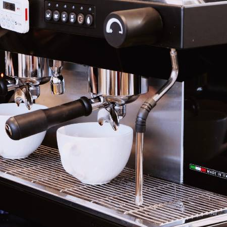 Steam Wand on an Espresso Machine