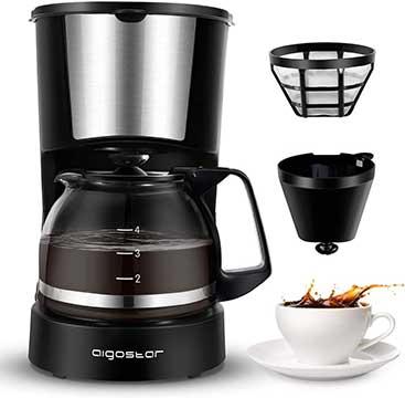 Aigostar Buck Small 4 Cup Drip Coffee Maker