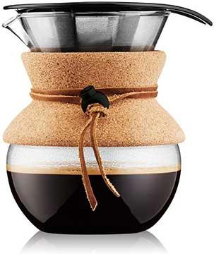 Bodum Pour Over Coffee Maker, 17 Ounce, 0.5 Liter