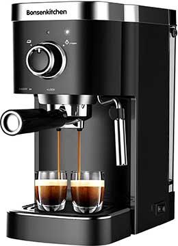 Bonsenkitchen 1 Order 2 Cup Espresso Machine