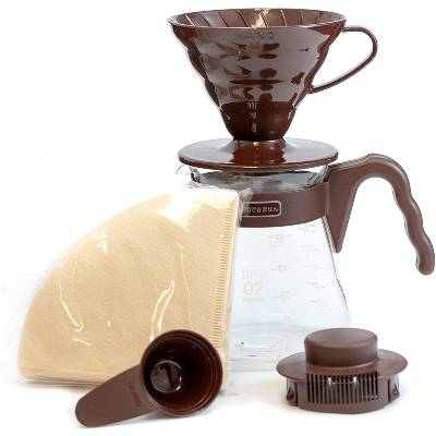 Hario V60 Pour Over Starter Set with Dripper