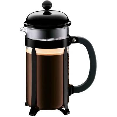 Bodum 1928-01 Chambord French Press Coffee Maker Black