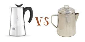 Moka Pot vs Percolator