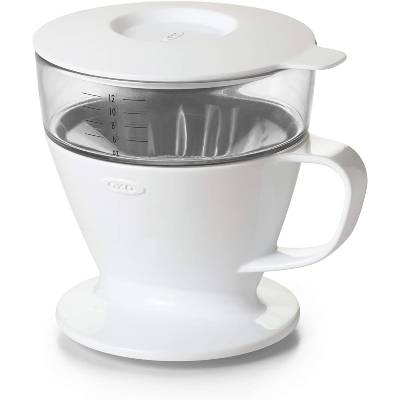 OXO BREW Single Serve Dripper Auto-Drip Pour-Over Coffee Maker with Water Tank