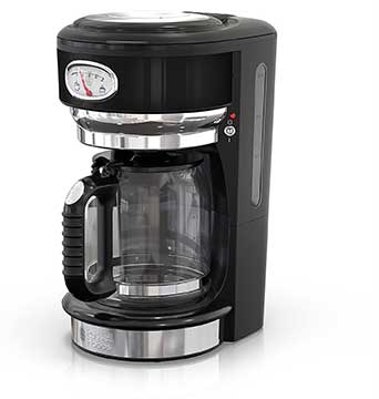 Russell Hobbs CM3100BKR Retro Style Coffeemaker