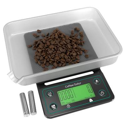Coffee Gator Digital Multifunction Weighing Scale