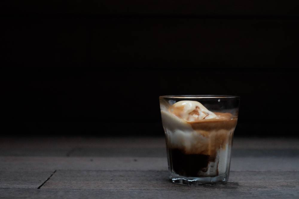 Espresso Affogato (Gelato Ice Cream and Coffee, A Perfect Pair)