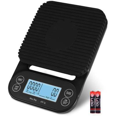 Fuzion Coffee Scale with Timer