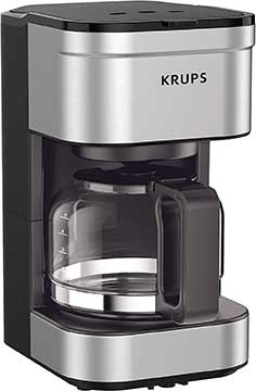 KRUPS Simply Brew Compact Filter Drip Coffee Maker