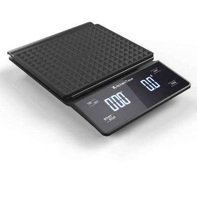 KitchenTour Coffee Scale with Timer