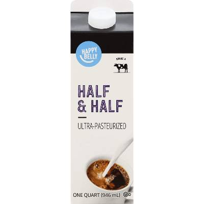 Amazon Brand - Happy Belly Half & Half
