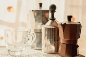 Moka Pots Ready To Be used