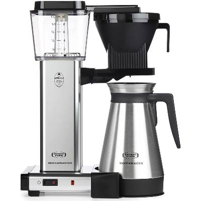 Technivorm Moccamaster 79312 KBGT Coffee Brewer 40 oz Polished Silver