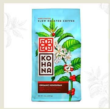 Kohana Coffee's Organic Honduran
