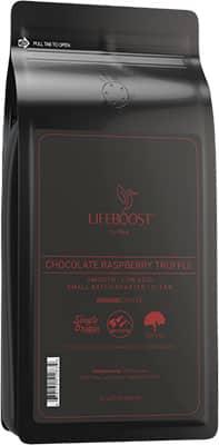 Lifeboost Chocolate Raspberry Truffle Coffee
