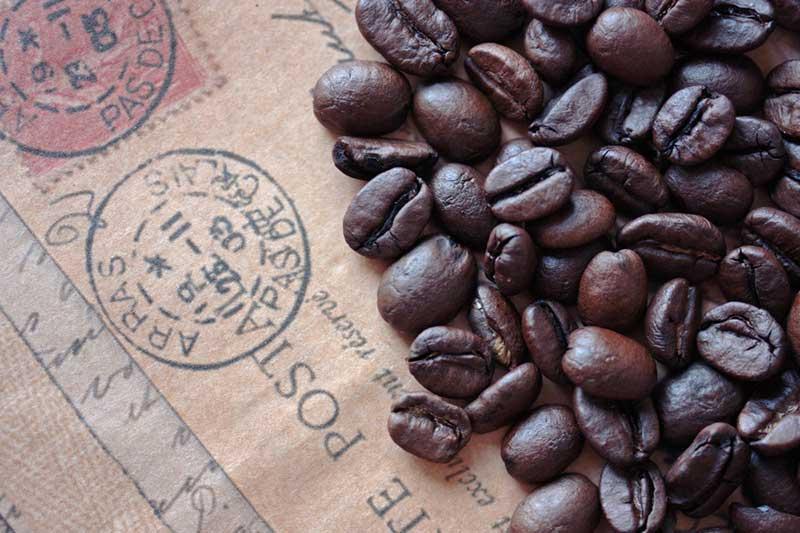 Organic dark roast coffee
