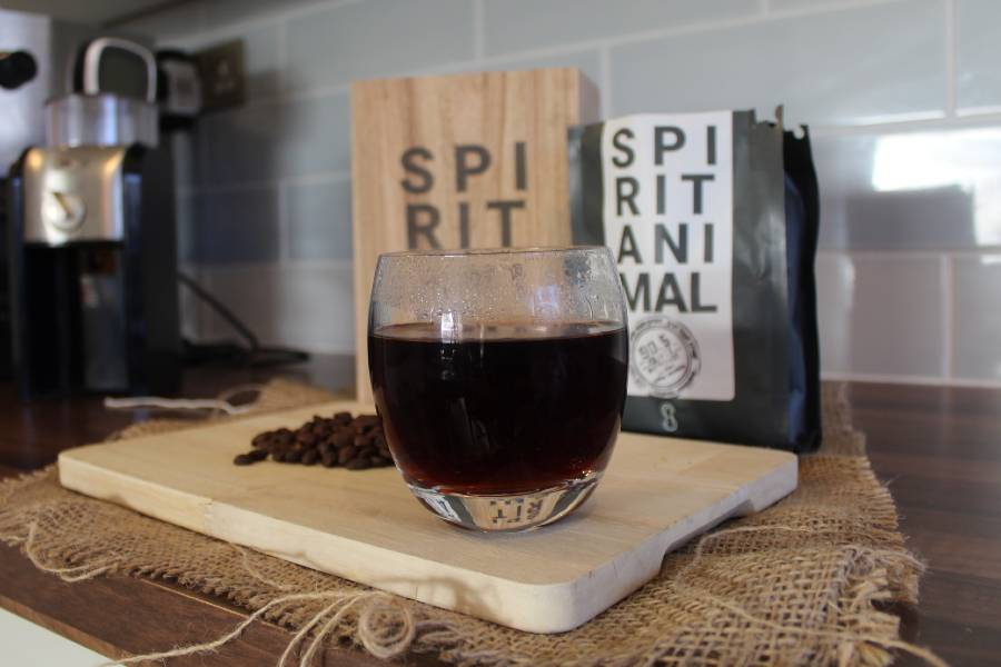 Pour Over Coffee Made with Spirit Animal Catuai Bourbon Coffee Beans