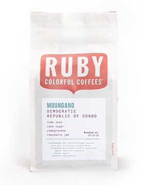 Ruby Colorful Coffee's Democratic Republic Of Congo Muungano