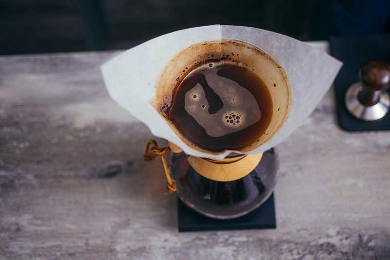 The best coffee filter in a chemex