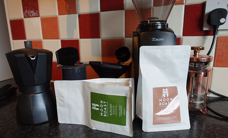 Moon Roast Coffee Review & Roasters Profile