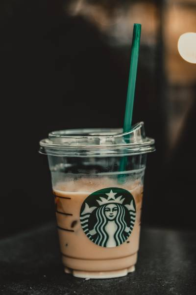 A Starbucks Fappuccino