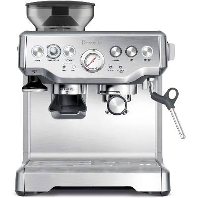 Breville BES870XL Barista Express Espresso Machine Brushed Stainless Steel Large