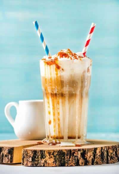 Caramel Ribbon Crunch Crème Frappuccino Blended Beverage