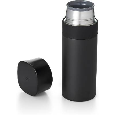 OXO BREW Thermal Travel Mug 12 oz Black