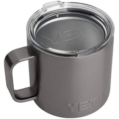 YETI Rambler 14 oz Mug Stainless Steel Vacuum Insulated with Standard Lid