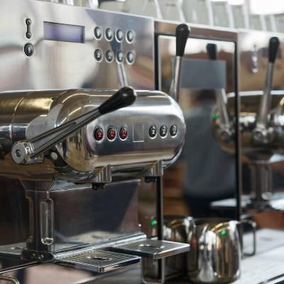 a manual lever espresso machine