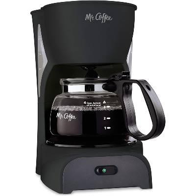 Mr. Coffee Simple Brew Coffee Maker 4 Cup Coffee Machine Drip Coffee Maker