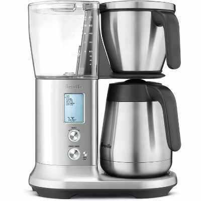 Breville Precision Brewer Thermal Coffee Maker Brushed Stainless Steel