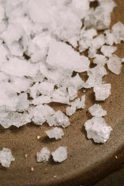 Some pretty salt crystals