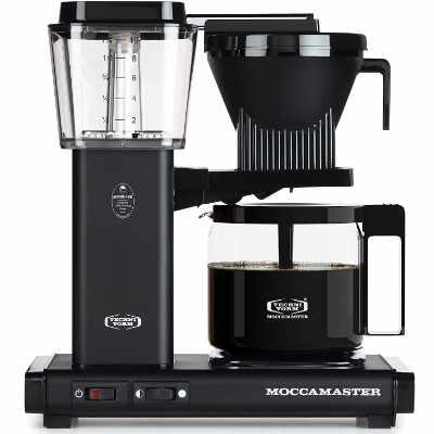Technivorm Moccamaster 59656 KBG 10-Cup Coffee Maker 40 oz Matte Black