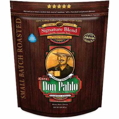 2LB Don Pablo Signature Blend - Medium-Dark Roast - Whole Bean Coffee
