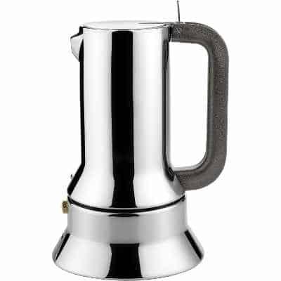 Alessi Espresso Maker 9090 by Richard Sapper 6 Espresso Cups
