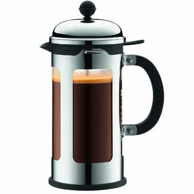 Bodum Chambord 8 Cup French Press Coffee Maker with Locking Lid