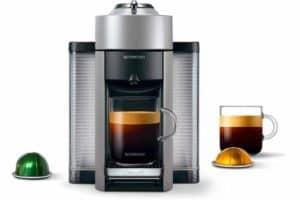 Nespresso Vertuo Evoluo Coffee and Espresso Machine by De'Longhi Silver