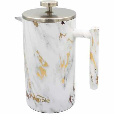 Nimble French Press Stainless Steel Insulated Double-walled Coffee Press