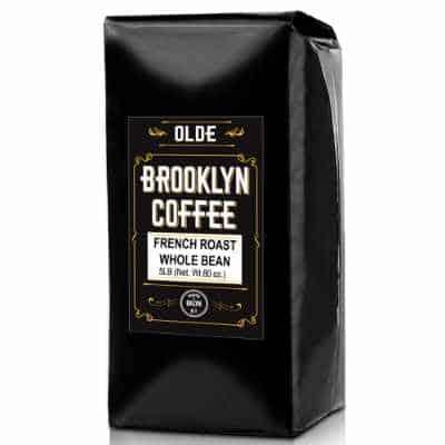 Olde Brooklyn Coffee FRENCH ROAST Whole Bean Coffee - DARK ROAST