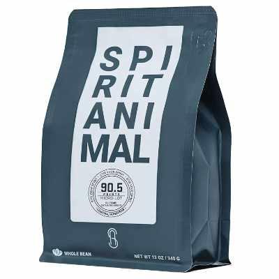 Spirit Animal Coffee - Small Batch Medium Roast Whole Bean Specialty Coffee