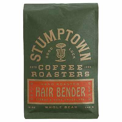 Stumptown Coffee Roasters Hair Bender Whole Bean Coffee 12 oz Bag Flavor Notes Of Citrus & Dark Chocolate