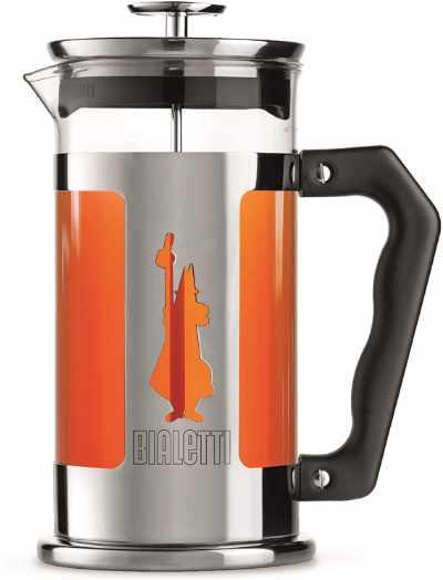The Bialetti Preziosa being used to brew tea
