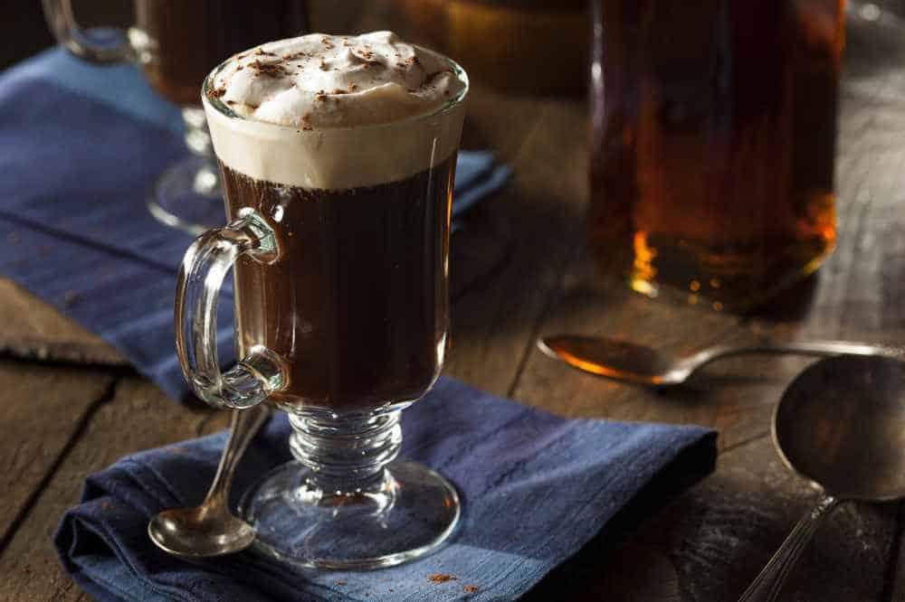 A Delicious Irish Coffee