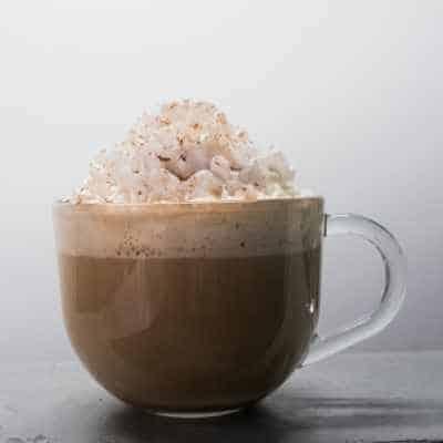 A Starbucks Hot Chocolate